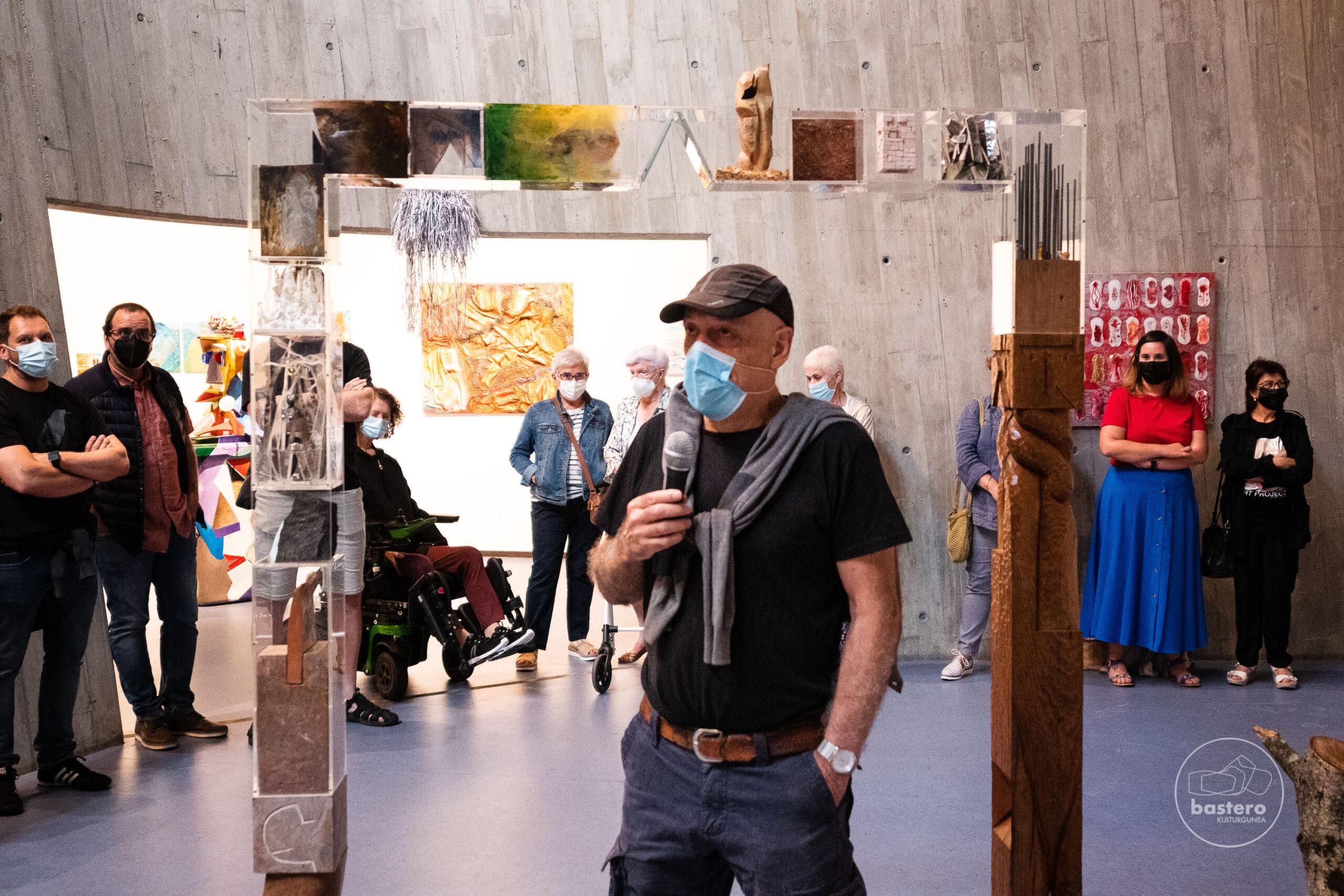 La exposición de pintura ANTROPOCENO de Eduardo Arreseygor y sus alumnos se podrá ver hasta el 30 de julio